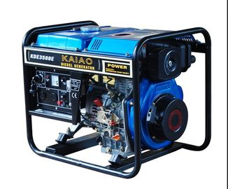 Air-Cooled Engines Open Frame 3kw Diesel Generator With 12.5L Fuel Tank